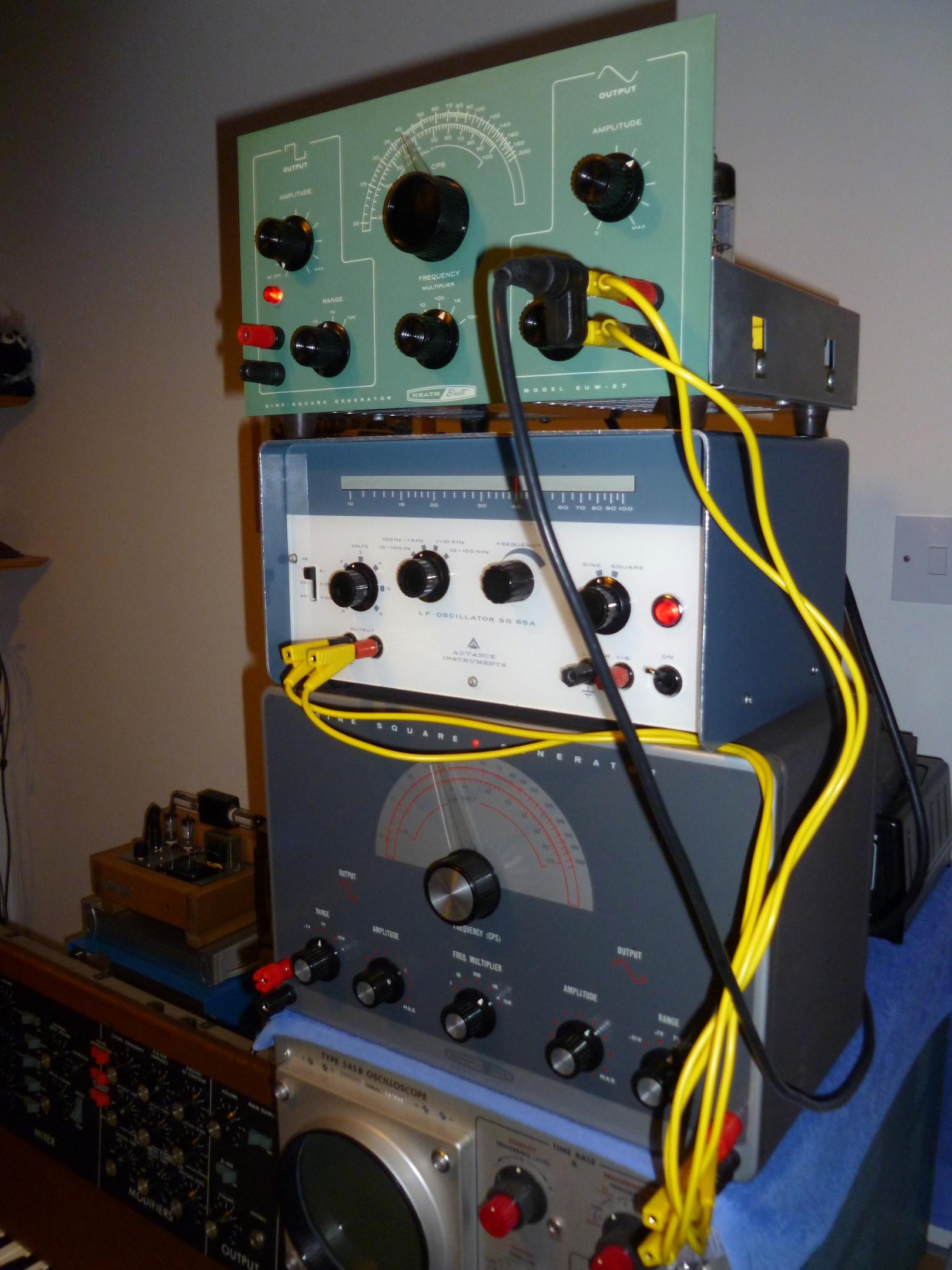 Triple Tube Oscillators