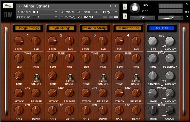 The String Collection GUI