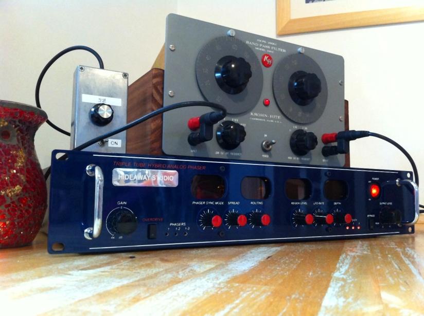 Tubed White Noise Setup